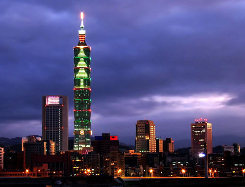 Tour Đài Bắc- Đài Trung-Cao Hùng